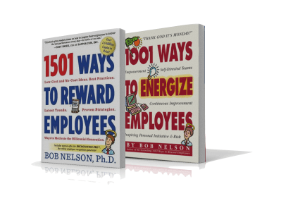 1500 Ways to Reward and 1001 Energiaze Employees Combo Pack