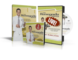 The Renegade Server Combo Book DVD CD