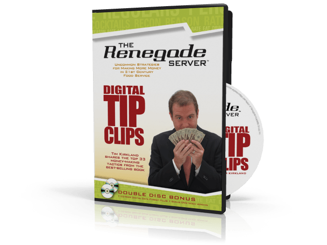 The Renegade Server Tip Clips DVD