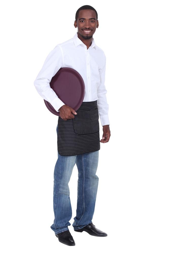 waiter black